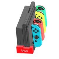 표시 등 소형 및 휴대용 캐리 편리한에게 기쁨 콘 콘솔을위한 도킹 스테이션을 충전 PG-9186 게임 컨트롤러