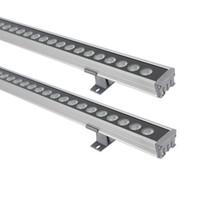 LED 36W الجدار غسالة الضوء، IP65 ماء الصف، اللوازم توفير الطاقة الخطي قطاع الخفيفة للجسر، فندق، بار ميجا