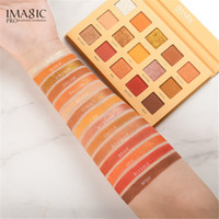 IMAGIC 15 Earth Colour Matte Eyeshadow Palette Pigments Makeup Shimmer Eye Shadow Powder Contour Cosmetic Set