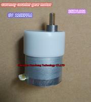 새로운 D 샤프트 9V 110rpm 통화 카운터 기어 모터 35ZYC-01 35ZYL002 530 기어드 모터 ~