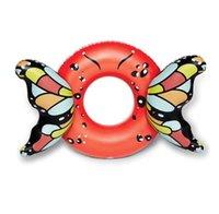 nuova gonfiabile galleggia donne Piscina con acqua materasso carino anello farfalla nuotata Bambini galleggiante tubi sportivi giocattolo zattera Piscina con acqua materasso