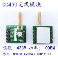 CC430 Kablosuz Modülü CC430 Geliştirme Kurulu MSP430 + CC1101 Haberleşme 433 M