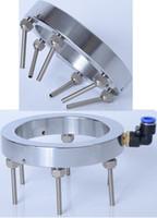 RoundUniversal Wasser Kältespray Ring Runde Kühlwasserventil mit mehreren Metalldüsen für CNC-Fräserspindelteile Dia.125 / 150 / 190mm