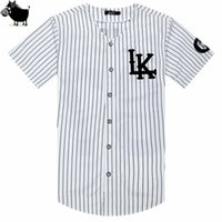 Man Si Tun New 07 Last Kings Baseball Tshirt Tyga Jerseys Bl...