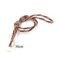 10pcs 30cm Connector Cable For Spektrum JR Satellite Receivers AR6200 AR6210 AR7000 AR8000 AR9020 AR12120 SPM9645