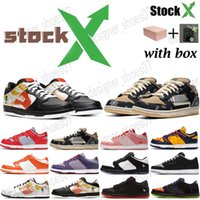 2020 mulheres novas dos homens SB Dunk Low Início Raygun Tie-Dye Dunks Longe Running Shoes Preto Laranja flash Sapatilhas Casual Mens Sports Trainers Designer