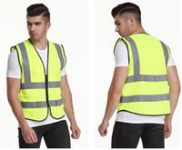 Engenharia Plain pano da grade do canteiro de obras Segurança no Trânsito roupa fluorescente Vest Universal Impresso Reflective Vest 173-185CM