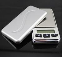 5 pcs Mini Balanças de Bolso Digitais Equilíbrio 100g / 200g / 300g / 500g 0.01g Eletrônico Peso Jóias Gram Escala
