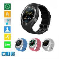 Y1 Bluetooth Smart Watch Android Smartwatch Telefonanruf GSM SIM Remote Camera Kinder Intelligente Uhr Sport Pedometer