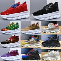 New Ve rsace Luxury s Designer Shoes Mens Womens 2019 Fashio...