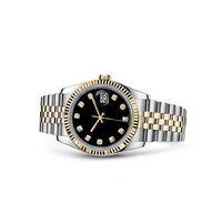 2020 여성 시계 레이디 크기 26mm 날짜 소녀 사파이어 유리 시계 자동 기계식 무브먼트 시계