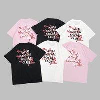2021 Haute qualité Anti Social Social Club T-shirt alphabet à manches courtes impression beauté marée mâle étudiante couple ASSC fassion t-shirt