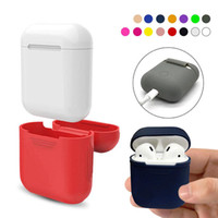 TPU Silicone Bluetooth Wireless Earphone Case For AirPods Pr...