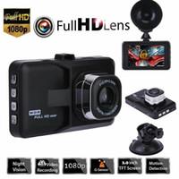3 pulgadas Full HD 1080P nocturna de la detección de la cámara del coche registrador de la conducción del vehículo DVR EDR dashcam con el movimiento del G sensor de visión