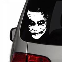 17.8 * 12.2 cm Joker Yüz Araba Sticker Vinil Çıkartması Araba Pencere Sticker CA-1084