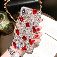 Super Luxo Moda Bling Cristal Colorido Diamante Caso Capa Para Samsung Galaxy Nota 20 10 9 8 S21 S20 Fe Ultra S10 5G S9 PLUS S10E deusa Caixa de telefone
