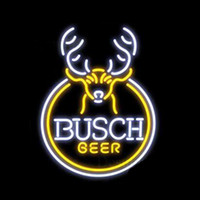2019 Busch Beer Mountain Neon Sign Handcrafted Custom Real