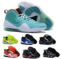 Mejor Penny Hardaway 5 para hombre de baloncesto zapatillas de deporte gris capa de invisibilidad Phoenix Orlando Memphis Tigers Hombre Chaussures Zapatos de la zapatilla