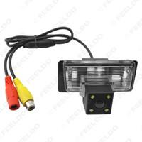 الجملة سيارة كاميرا للرؤية الخلفية مع ضوء LED لسيارات نيسان / TEANA / بالادين / تيدا / سيلفي عكس موقف كاميرا # 4056