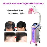 Commercio all'ingrosso Laser a diodo macchina la crescita dei capelli nuovi ricrescita dei capelli laser a diodi di buona qualità diodo laser per trattare la perdita di capelli
