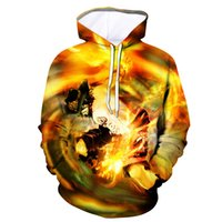 2019 nouveau Sweatshirt Anime One Piece Hoodies 3D Imprimé Sweat Singe D Luffy Ace Sabo Survêtement Survêtement Outwear Décontracté
