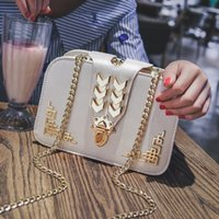 2019 Vintage Metal Decoration Golden Chain Flap donna Borse Mini Crossbody Borse per le donne Borse a tracolla