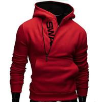 6XL marca de moda sudaderas con capucha del chándal de los hombres masculino cremallera con capucha chaqueta informal de deporte Moleton Masculino Assassins Creed Ropa