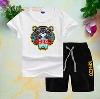 Kids Sets 2- 8T Kids T- shirt and Short Pants 2Pcs sets 8 Colo...