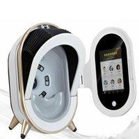 2020 무료 배송! 휴대용 얼굴 피부 해석기 기계 3d 마술 거울 여드름 안료 주름 테스트 장비 DHL