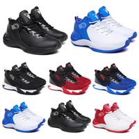 Baratas do basquetebol Sapatos homens Chaussures Preto Branco Azul vermelho dos homens Trainers Jogging Walking respirável Sports Sneakers 40-44 Estilo 11