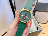 2020 패션 브랜드 명품 여성 시계 간단한 브랜드 작은 패턴 석영 가죽 여성 시계 스포츠 고전적인 시계 시계 Relogio