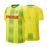 2019 2020 FC Nantes yetişkin Futbol Formalar ev gömlek 19 20 FC Nantes Erkekler Sala Coulibaly Waris Rongier Boschilia Futbol Gömlek Erkek Tişörtler