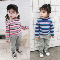 2019 Winter New Arrival korean style Rainbow Fashion High Co...