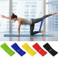 5 Pçs / lote Banda de Resistência De Látex Puxar Banda Sports Fitness Yoga Banda Resistência Da Aptidão Cinto de Treinamento de Força Cinto de Força ZZA980