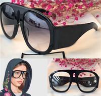 New Mens Womens Som quadrado de cristal quadrado óculos de neve de alta qualidade enorme quadro quadrado sol óculos mulher
