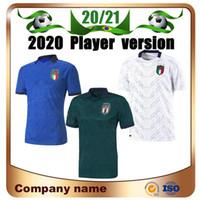 2020 Versão Jogador Terceiro Futebol Jerseys 20/21 Home Chiellini Candreva Futebol Camisa de distância Insigne Romagnoli 3rd Futebol Uniforme