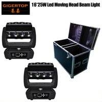 Kafa Örümcek Işık LCD Ekran Ultimate Rotasyon LED Bireysel Kontrolü Hareketli Tekerlekler 16 Kafa Led Çin Flightcase 2in1 Paketi