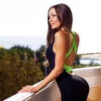 Bodysuit Fitness Overall Neue Sexy Frauen Overall Tank Strampler Catsuit Macacao Womens Jumpsuit Combinaison 4 farbe