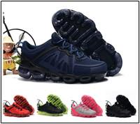 nike air max Vapormax 2018 Enfants Coussin 2.0 Chaussures De Course Enfants garçon filles tn Rouge Rose Triple Noir Blanc Enfant en bas âge Marche