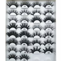 25 mm Mink Lashes gratuit Private Label 3D Mink Lashes 25 mm cruauté Cils Faux Cils sans Mink 25 mm Lash