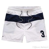 Sommer-Badebekleidungs-Strand-Hosen Herren-Board Shorts White Men Surf Shorts kleines Pferd Badehose beiläufige Sport-Shorts