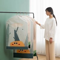 Clothes Dust Bag Hanging Type Clothing Storage Bag Household...