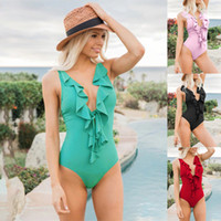 4be0faf8d21 Plus Size Swimwear Women Bikini Swimming Suit Bech Female Swim wear  BeachWear Swimsuit For Woman One-Piece Swimsuit Monokin