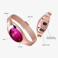 Z18 Smart Armband Blutdruck Blut Sauerstoff Pulsmesser Sport Tracker Smart Uhr Wasserdichte Bluetooth Armbanduhr Für IOS Android