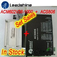 Setverkäufe Leadshine ACM602V36-1000 200 W bürstenloser AC-Servomotor und ACS806-Servoantrieb mit 20-80 VDC-Eingang, 18 A Strom