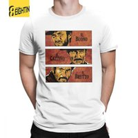 The Good The Bad e The Ugly Clint Eastwood T-Shirt Manica corta Taglie forti T Shirt 100% Cotone Colletto tondo Uomo Top T