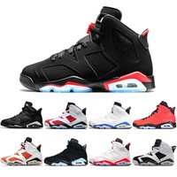New Arrival 6 6s New Bred Men Basketball Shoes 2019 Tinker U...