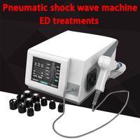 Профессиональные низкая интенсивность ударной волна машина для ED терапии эректильной дисфункции пневматической Shockwave максимума до 21hz использование человека ударной волны