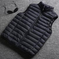 Yüksek Kalite Yeni Tasarımcı Erkekler Ve Kadınlar Kış Aşağı Yelek Klasik Tüy Weskit Ceketler Bayan Rahat Yelekler Coat