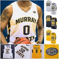 Özel Murray Devlet Basketbol forması NCAA Koleji Morant Tevin kahverengi Kj Williams Anthony Smith Chico Carter Jr. Jaiveon saçak DaQuan Smith